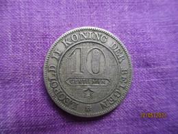 Belgique: 10 Centimes 1894 (Flamand) - 04. 10 Centimes