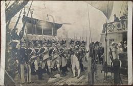 Cpa, Salon De 1897, Napoléon 1er à Bord Du BELLEROPHON, Tableau De Maurice Orange - Historische Persönlichkeiten