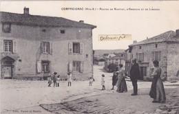 87- COMPREIGNAC (Hte-Vienne)- Route De NANTIAT, D'AMBAZAC Et De LIMOGES- Edit. : FAURE Et MARTIN          (12/5/21) - Andere Gemeenten