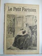 LE PETIT PARISIEN N°424 - 21 MARS 1897 - LA REINE VICTORIA D'ANGLETERRE - NOCE A BICYCLETTE A MARSEILLE - 1850 - 1899