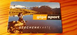 Giga Sport Gift Card Austria - Gift Cards