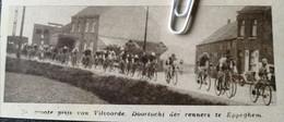 WIELERSPORT..1936.. DE GROTE PRIJS VAN VILVOORDE / DOORTOCHT TE EPPEGHEM - Non Classificati