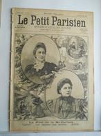 LE PETIT PARISIEN N°425 - 28 MARS 1897 -MI CAREME - LA REINE DES REINE - DUEL PINI-THOMEGUEX - NANSEN POLE NORD - 1850 - 1899