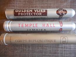 3 étui à Cigare - Cigar Cases