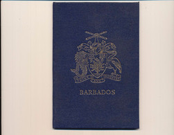 Barbados 1969 MiNr. Souvenir Album  MiNr. 235/48 + 280 - UPU-Kongress Tokyo - Postfrisch - MNH - ** - Barbados (...-1966)
