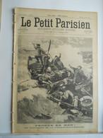 LE PETIT PARISIEN N°426 - 4 AVRIL 1897 -NAUFRAGES DU VILLE-DE-SAINT-NAZAIRE - LE PLUS GROS CONSCRIT OLIVIER FLOMONT - 1850 - 1899