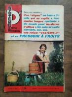 Système D : La Revue Des Bricoleurs Nº 258 -  6/ 1967 - Non Classificati