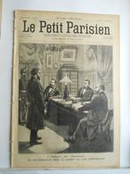 LE PETIT PARISIEN N°427 - 11 AVRIL 1897 - AFFAIRE DU PANAMA - BOXE JIM CORBETT ET BOB FITZSIMMONS - 1850 - 1899