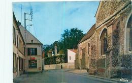 Cpsm -   Boissy Le Chatel - Rue De L ' église         G637 - Sonstige Gemeinden