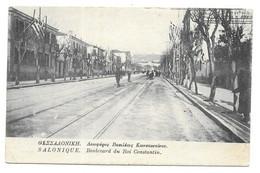 Salonique. Boulevard Du Roi Constantin (7097) - Griechenland