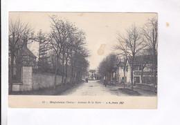 CPA  DPT 38 MEYZIEUX, AV DE LA GARE En 1910! - Sonstige Gemeinden