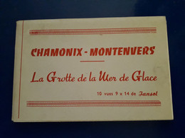 CHAMONIX MONT BLANC LA GROTTE DE LA MER TELEPHERIQUE - Chamonix-Mont-Blanc