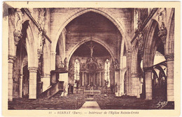 Bernay  -  Intérieur De L'Eglise Sainte-Croix - Bernay