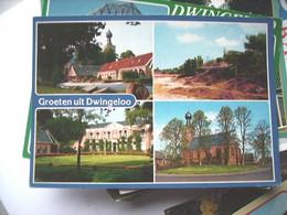 Nederland Holland Pays Bas Dwingeloo Met Dorp En Fraaie Natuur - Dwingeloo