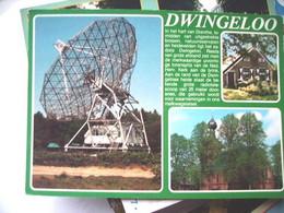 Nederland Holland Pays Bas Dwingeloo Met Sterrenwacht En Uitleg Erbij - Dwingeloo