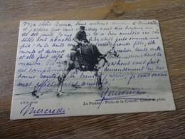 La Panne Pêche De La Crevette,cheval De Pêche - De Panne