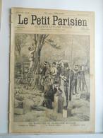 LE PETIT PARISIEN N°428 - 18 AVRIL 1897 - TELEGRAPHE MILITAIRE - DRAME DE FOLIE - PASSY RUE DE L'ANNONCIATION - 1850 - 1899