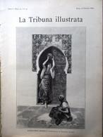 La Tribuna Illustrata 22 Giugno 1890 Marocco Mostra Arte Industria Roma Hampton - Before 1900