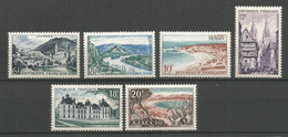 Timbre France Neuf * N 976/981 - Ongebruikt
