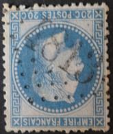 29A (cote 10 €) Obl BUREAU SUPPLEMENTAIRE GC 4813 St-Laurent-sur-sèvre (79 Vendée ) Ind 8 - 1849-1876: Periodo Clásico