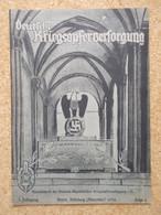 """Germany 1933-45; """"Deutsche Kriegsopferversorgung"""" - NSKOV Magazine 1934 - 1939-45"""