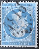 22 Déf, Obl BUREAU SUPPLEMENTAIRE GC 4816 Bussière-poitevine (81 Haute Vienne ) Ind 14 - 1849-1876: Klassik