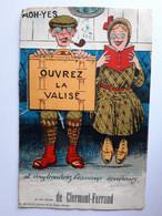 CPSM - (63) Clermont-Ferrand - Carte à Système, Dépliante à Multi-Vues,Ouvrez La Valise.. - édit. GABY, Non Voyagée - Clermont Ferrand