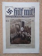 """Germany 1933-45; """"Hilf Mit!"""" - Illustrierte Deutsche Schuelerzeitung, NSDAP Nr.12 1934 - 1939-45"""