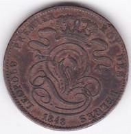 Belgique . 5 Centimes 1848 . Leopold Premier - 03. 5 Centimes