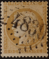 59 (cote 8 €) Obl BUREAU SUPPLEMENTAIRE GC 4839 Verson (13 Calvados ) Ind 18 - 1849-1876: Klassieke Periode