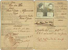 Militaria. Gouvernement Militaire Du Brabant. Réduction Chemins De Fer. 1919. - Documents