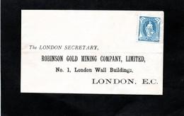 LSC  Pour LONDON - Timbre Helvetia Debout 25c Bleu (YT 73 ?) Non Oblitéré - Covers & Documents