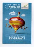 Dpt Des Deux-Sèvres, Terre De Festivals. Vivez Les émotions En Grand. Programmation 2014. Toupie Kreisel Spinning Top - Unclassified