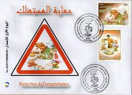Algérie 2017 FDC 1772/1773 Protection Du Consommateur - Argelia (1962-...)