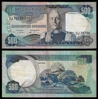 ANGOLA BANKNOTE - 500 ESCUDOS 1972 P#102 (NT#06) - Angola