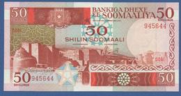 SOMALIA - P.34b – 50 Shilin Soomaali / Somali Shillings 1986 - XF Serie D051 945644 - Somalia