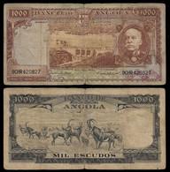 ANGOLA BANKNOTE - 1000 ESCUDOS 1956 P#91 VG/F (NT#06) - Angola
