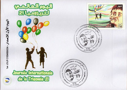 Algérie 2017 FDC 1774 Journée Internationale De La Trisomie 21 - Argelia (1962-...)