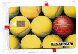 Russia - MGTS (Moscow) - Cup Of Kremlin '98 Tennis Balls, Exp.07.1998, 10Units, 2.000ex, NSB - Rusland