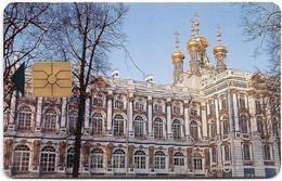 Russia - St. Petersburg  - Catherine's Palace, Gemplus/Monetel Demo, 1992, 50U, Mint - Rusland