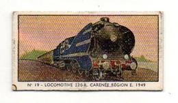 Ticket Sté Anonymes Française Des Appareils Automatiques Paris Série A-30 Locomotives 230-K Carénée 1949 - Non Classificati