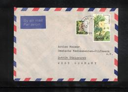Kenya Interesting Airmail Letter To Germany - Kenya (1963-...)
