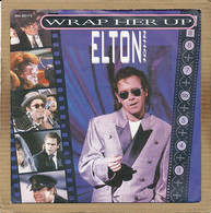"7"" Single, Elton John - Wrap Her Up - Disco, Pop"