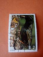 "GUYANE - GUYANA - Timbre 1987 : Série Faune Et Flore - Oiseau ""Etourneau Sansonnet"" (Starling) - Guyana (1966-...)"
