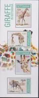 BOTSWANA, 2020, MNH, FAUNA, GIRAFFES,SHEETLET - Giraffes