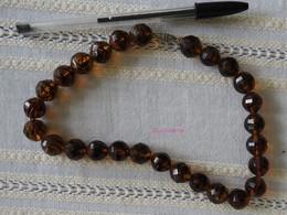 Collier En Perles De Verre - Necklaces/Chains