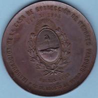 INAUGURACION DELA CASA DE CORRECCION DE MENORES VARONES. 15 AGOSTO 1898, BUENOS AIRES, ARGENTINA.- LILHU - Gewerbliche