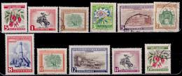 Uruguay, 1954, Local Motives, Used/MH - Uruguay
