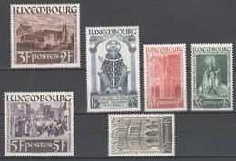 Luxemburg 1938 , Nr . 309-14 Mit Falzspur - Unused Stamps