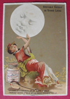 Image Chromo Liebig S 147. Lune Et Japonaise, Luth. 1883 - Liebig
